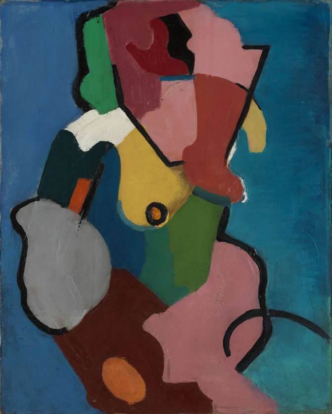 Untitled (Abstract Figure)