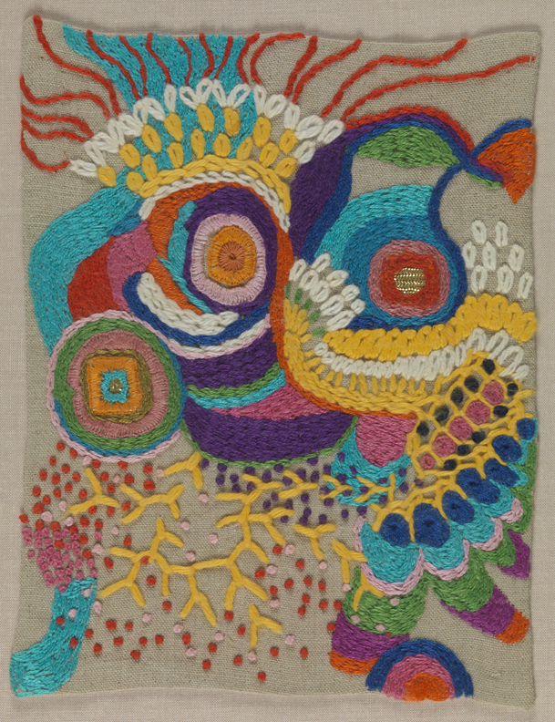 Untitled [Small Stitching Sample]
