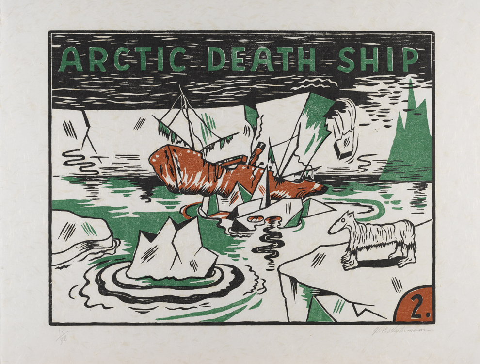 Arctic Death Ship