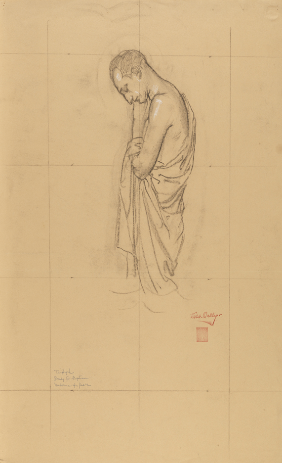 Study for the Madonna of the Crusaders altarpiece