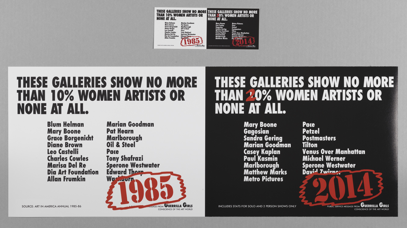 These Galleries Show No More Than 10% Women Artists Or None At All Recount
