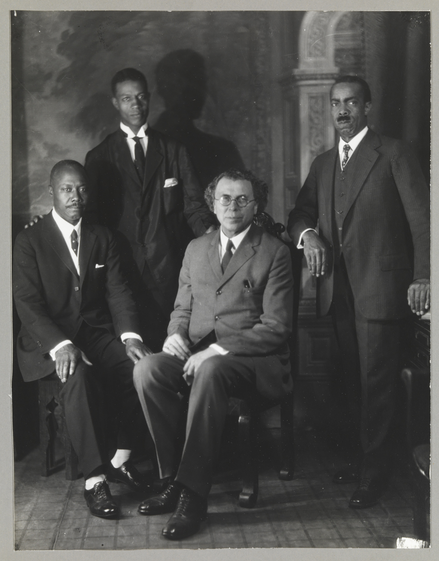 Adam Clayton Powell, Sr. (3rd from left)