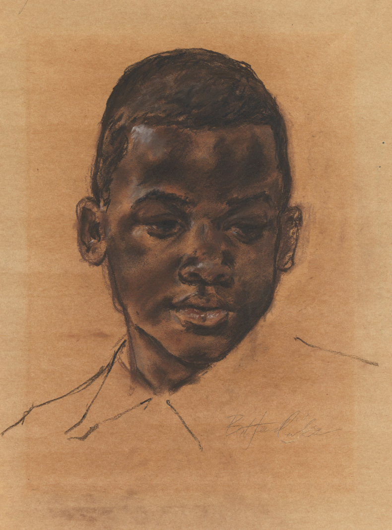 Untitled [Head of a boy]