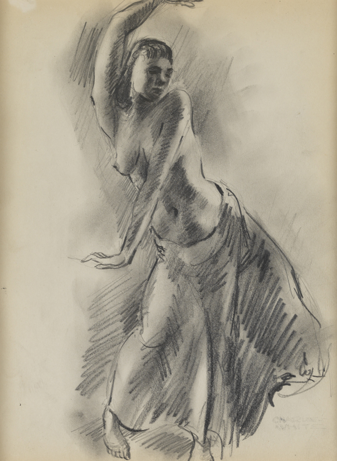 Untitled [Dancing woman]