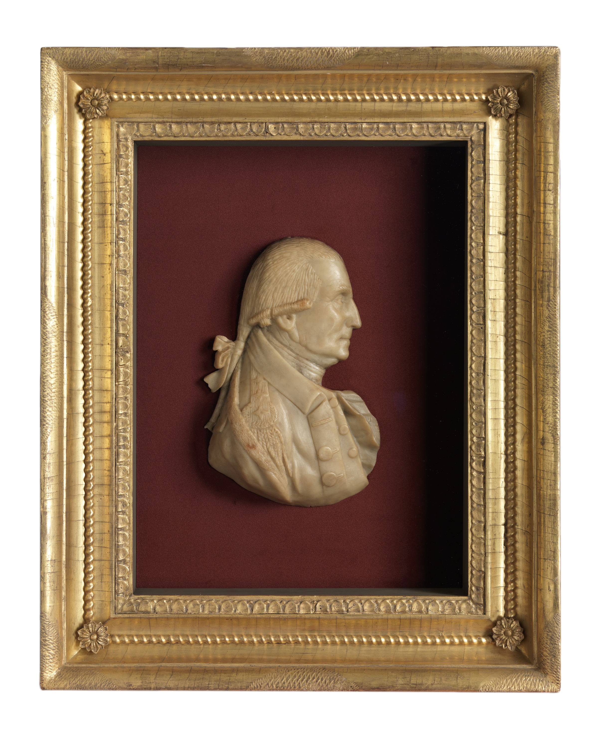 Profile Portrait of George Washington