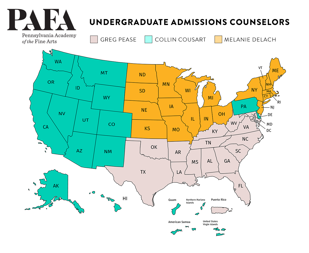 admissions map