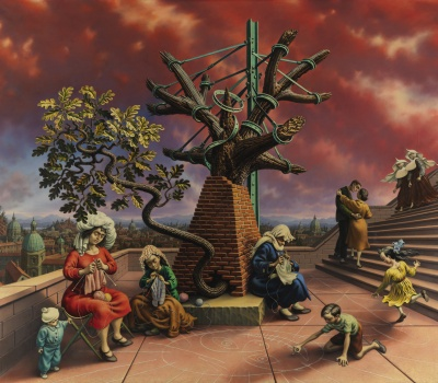<p>Peter Blume, Tasso's Oak, ADD</p>