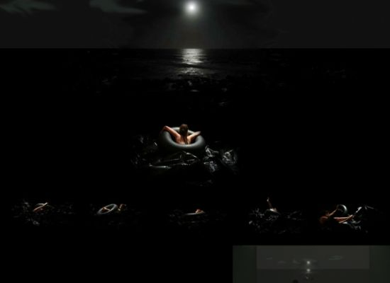 """Roxana Pérez Méndez, """"De Noche Sueño Contigo"""" (2006/2009). 80 digitally layered slides and slide carousel. Image courtesy of the artist. © Roxana Pérez Méndez."""