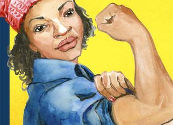 "Abigail Swartz's ""Rosie the Riveter"" cover for the New Yorker"