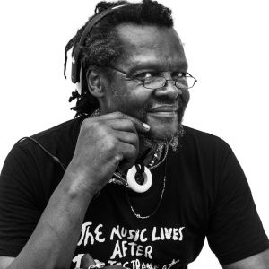 Portrait of the artist, Lonnie Holley