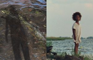 Still from Beasts of the Southern Wild with Emily Brown, (b. 1943) At the River's Edge, 1998 Oil on canvas 24 x 18 in. (60.96 x 45.72 cm.)