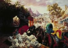 Peter Blume, The Eternal City, 1934-37, oil on composition board, 34 x 47 7/8 in.
