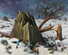 Peter Blume, Winter, 1964, oil on canvas, 48 x 60 in.