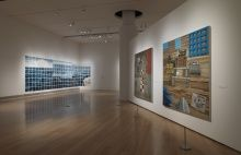 Installation view of Jennifer Bartlett: History of the Universe, 2013