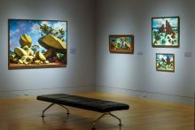 Peter Blume: Nature and Metamorphosis, installation view