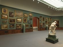 Installation View of A New Look: Samuel F.B. Morse's Gallery of the Louvre, 2013