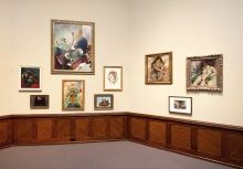 Installation view of PAFA and Dr. Barnes, 2012, Photo by Rick Echelmeyer