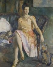 Alice Kent Stoddard, Polly, by 1928, Oil on canvas, 54 x 44 1/8 in., Gift of Mrs. H. Lea Hudson, 1966.1