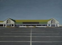 Ted Walsh, Superstore, 2012, oil on panel, 17 x 23 in.