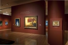 Installation view of Henry Ossawa Tanner: Modern Spirit, 2012