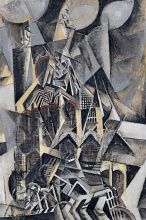 Max Weber, Grand Central Terminal, 1915, Oil on canvas, 152.5 x 101.6 cm., Museuo Thyssen-Bornemisza, Madrid