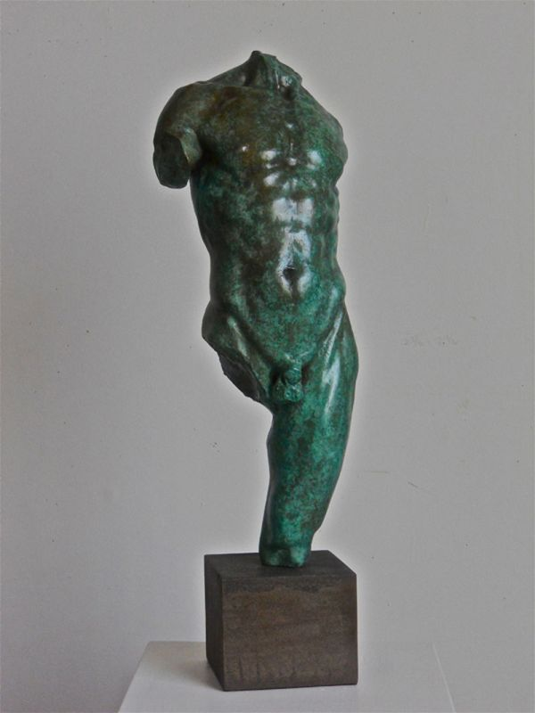 Kouros - 24 inches H. 2010 bronze