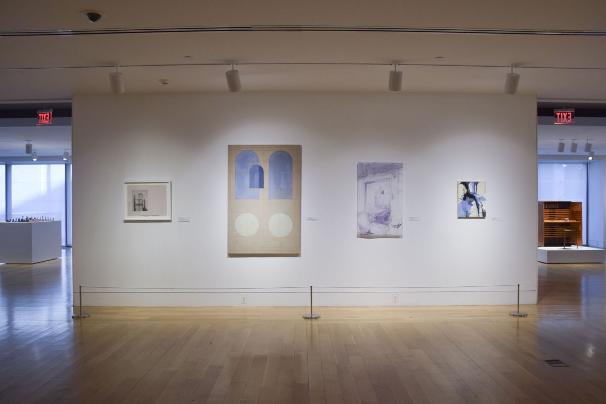 "Installation view of ""Crosscurrents"" 
