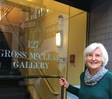 Sharon Ewing of Gross McCleaf Gallery