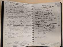 George Harding Sr. diary, 1951