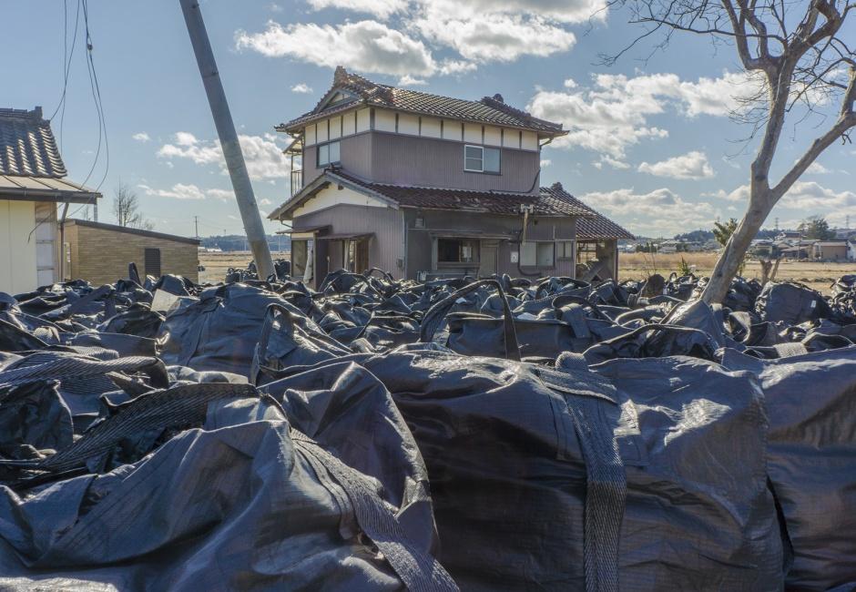 Eiko Otake, <em>Eiko in Fukushima, Maeda, 15 January 2014, No. 29</em>, Photo by William Johnston