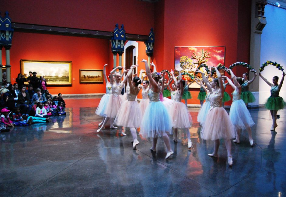 Family Arts Academy ballet performance, Historic Landmark Building