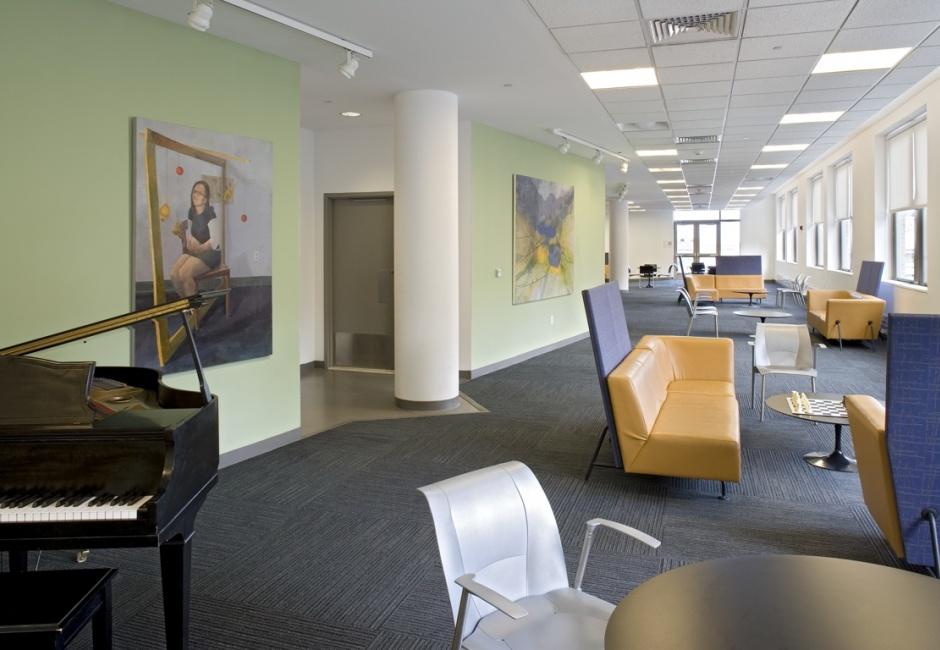 11th floor student lounge, Samuel M.V. Hamilton Building