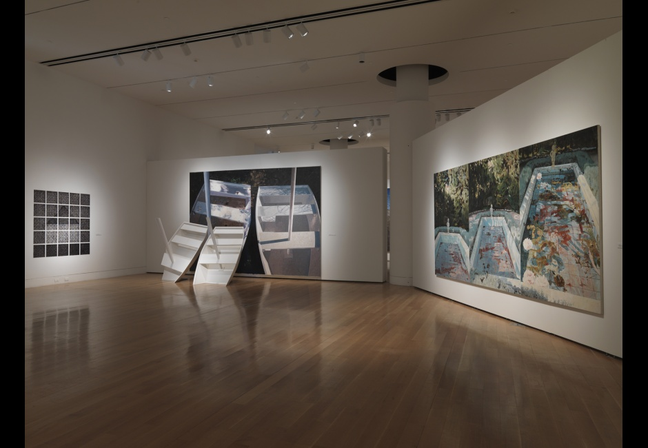 Installation view of <em>Jennifer Bartlett: History of the Universe</em>, 2013, Photo by Barbara Katus