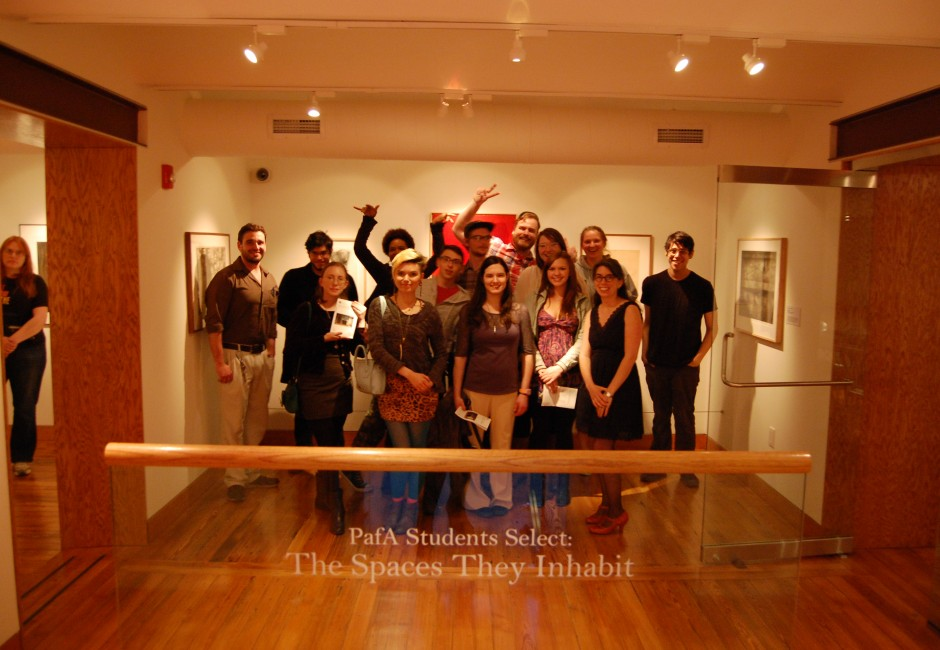 Curators of <em>PAFA Students Select: the Spaces they Inhabit</em>, 2014