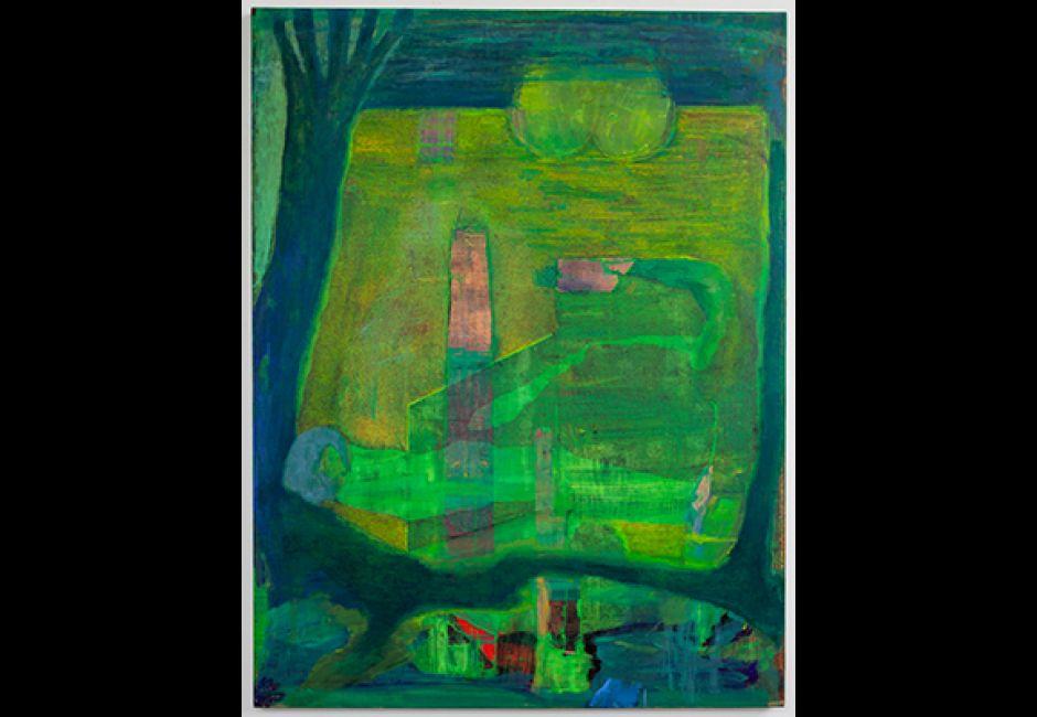 Drew Kohler, <em>See Gulling</em>, oil on canvas, 46 x 60 in.