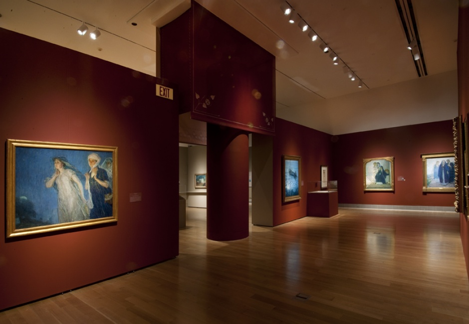 Installation view of <em>Henry Ossawa Tanner: Modern Spirit</em>, 2012, Photo by Rick Echelmeyer