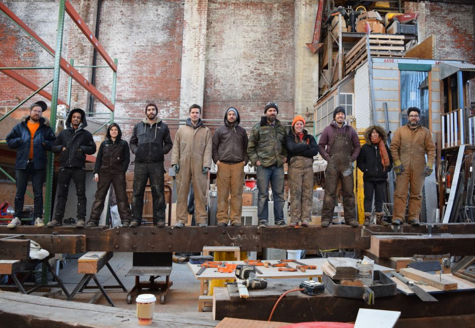 Members of Traction Company, photo by Barbara Katus