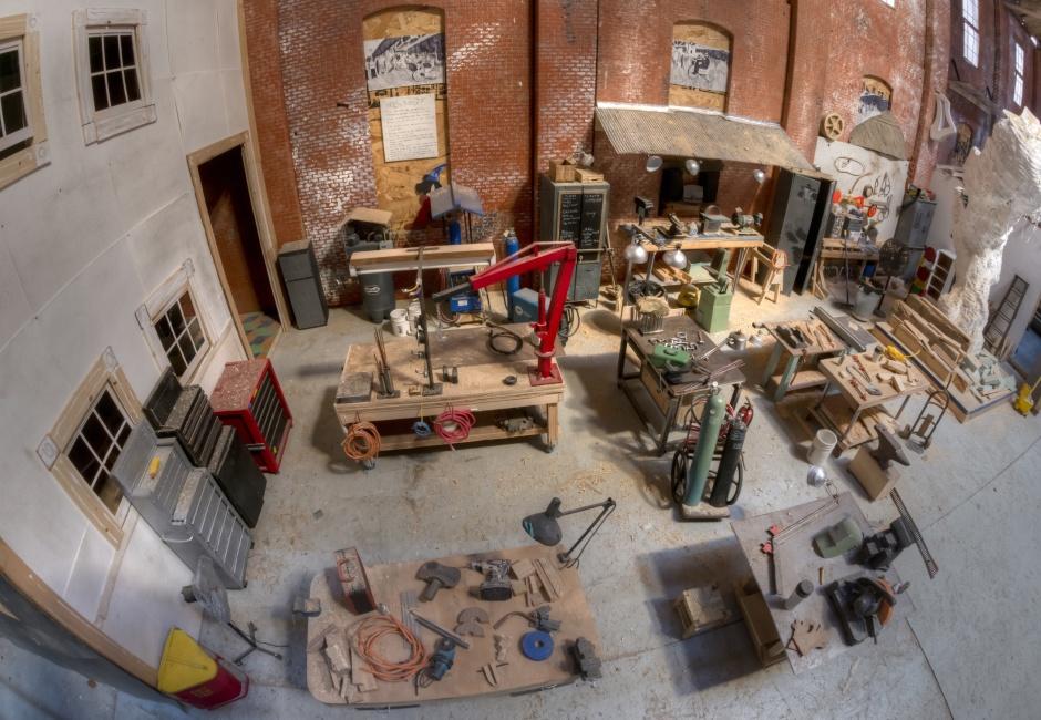Interior of <em>subTRACTION</em>, photoby Jesse Friedman