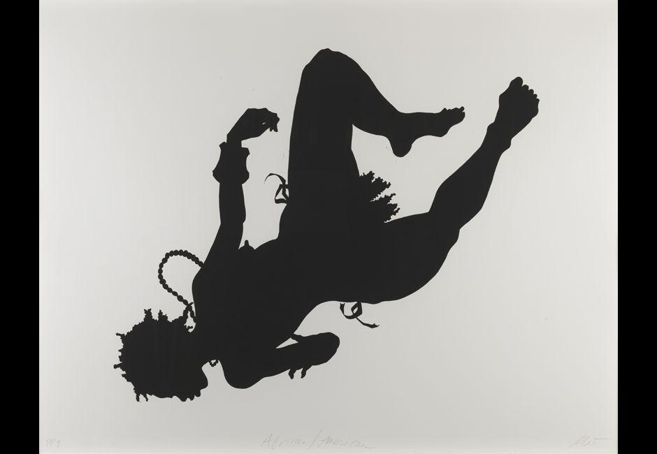 """Kara Walker, """"African/American"""" (1998)"""
