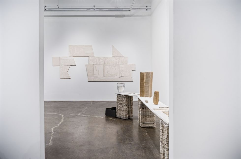 "SaraNoa Mark, ""Temporarily Removed"" (2019). Installation view. Image courtesy of the artist."