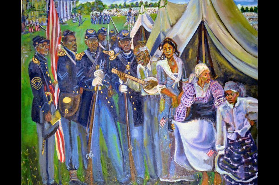 "Inga Kimberly Brown, ""The Day You Came Home We Sang The Song of Freedom"""