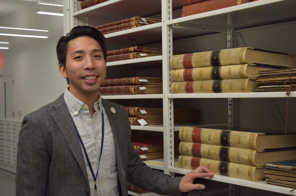 Hoang Tran, PAFA's Director of Archives