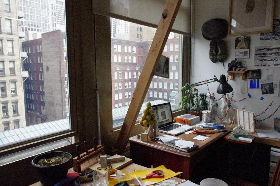Windowed Studio, Samuel M.V. Hamilton Building