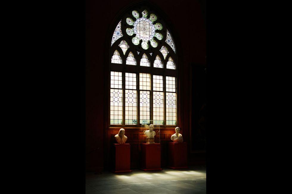 Washington Foyer, Interior of Historic Landmark Building, Photo by Dominic Mercier