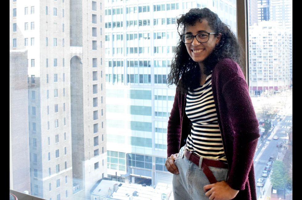 Cultura Latinx co-founder, Aimee Liriano '22.
