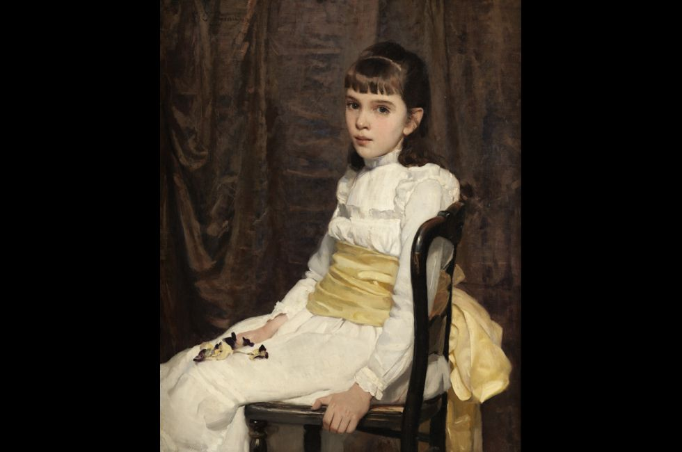 "Cecilia Beaux, ""Little Girl"" (1887)"