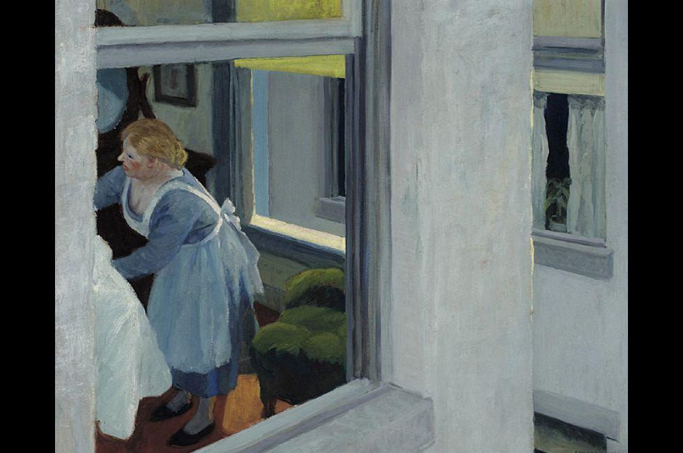 "Edward Hopper, ""Apartment Houses"" (1923)"