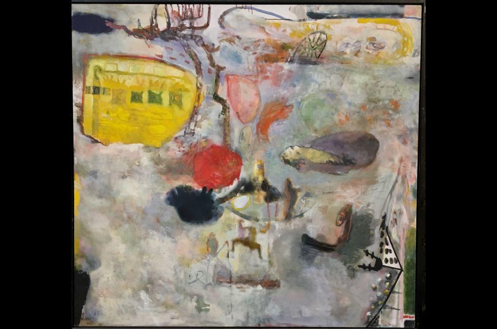 Mark Blavat, 'Sephirah: Shekinah', oil on canvas, 58 in x 54 in, 2002