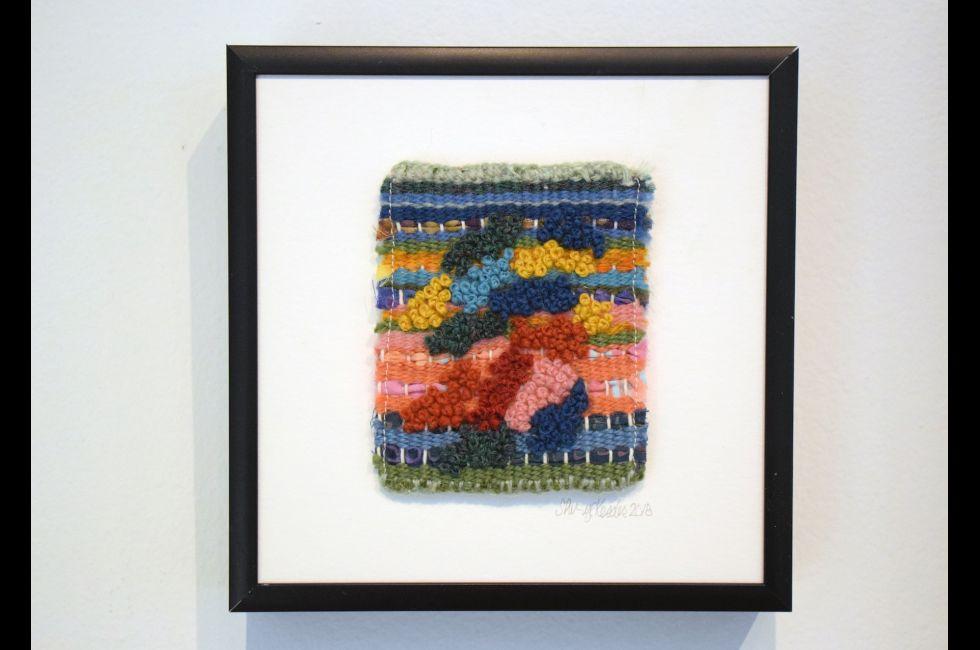 """Artwork by Sheryl Kessler, as part of the """"Insider Art"""" exhibition."""