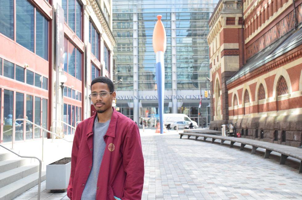 Nasir Young (BFA '21).